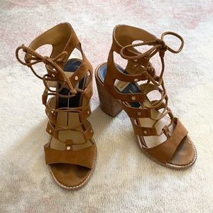 Dolce Vita Lyndon Suede Gladiator Sandals